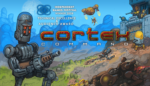 Cortex Command 1.0, baby